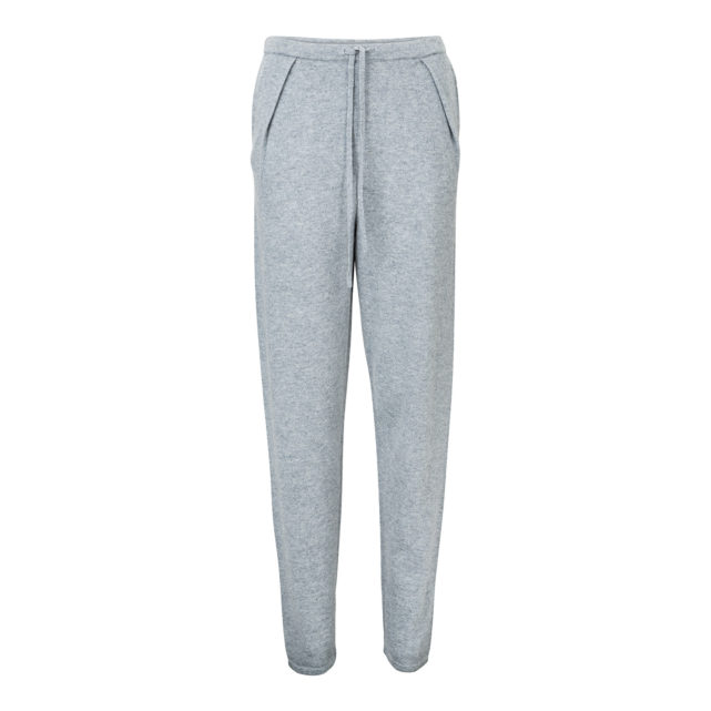 KNIT CASHMERE PANTS