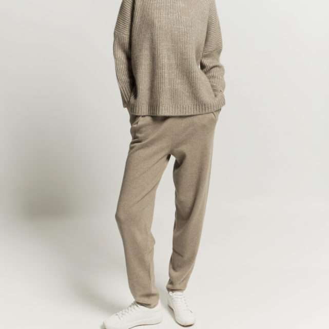 pantalon cashmere organico